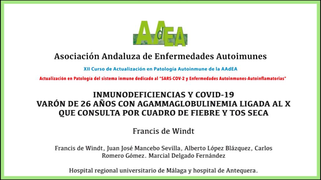 Casos clínicos 04: Agammaglobulinemia